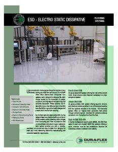 Dur-A-Flex ESD Floors Brochure