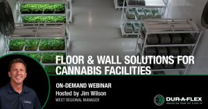 Floor & Wall Solutions for Cannabis Facilities