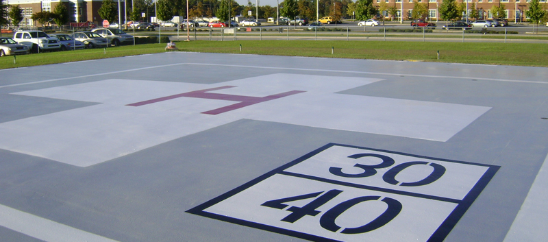MMA Helicopter Pad