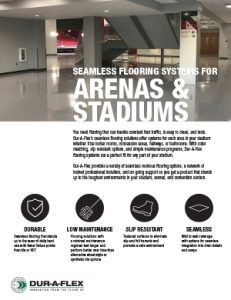 Flooring for Stadiums